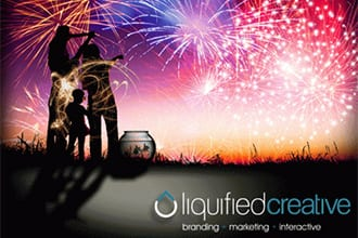 Happy Fourth of July from Liquified Creative!