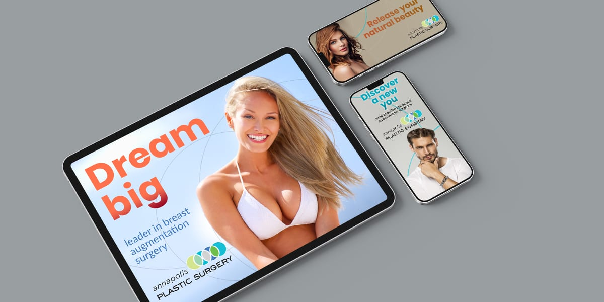 Plastic Surgery Digital Ad Campaign