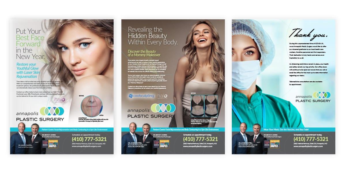 Annapolis Plastic Surgery Print Ads