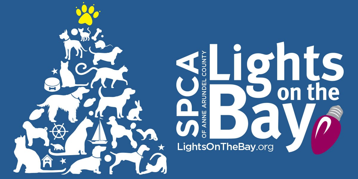 anne arundel county spca lights on the bay banner