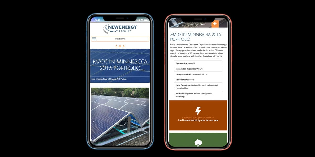 new energy equity website mobile phone