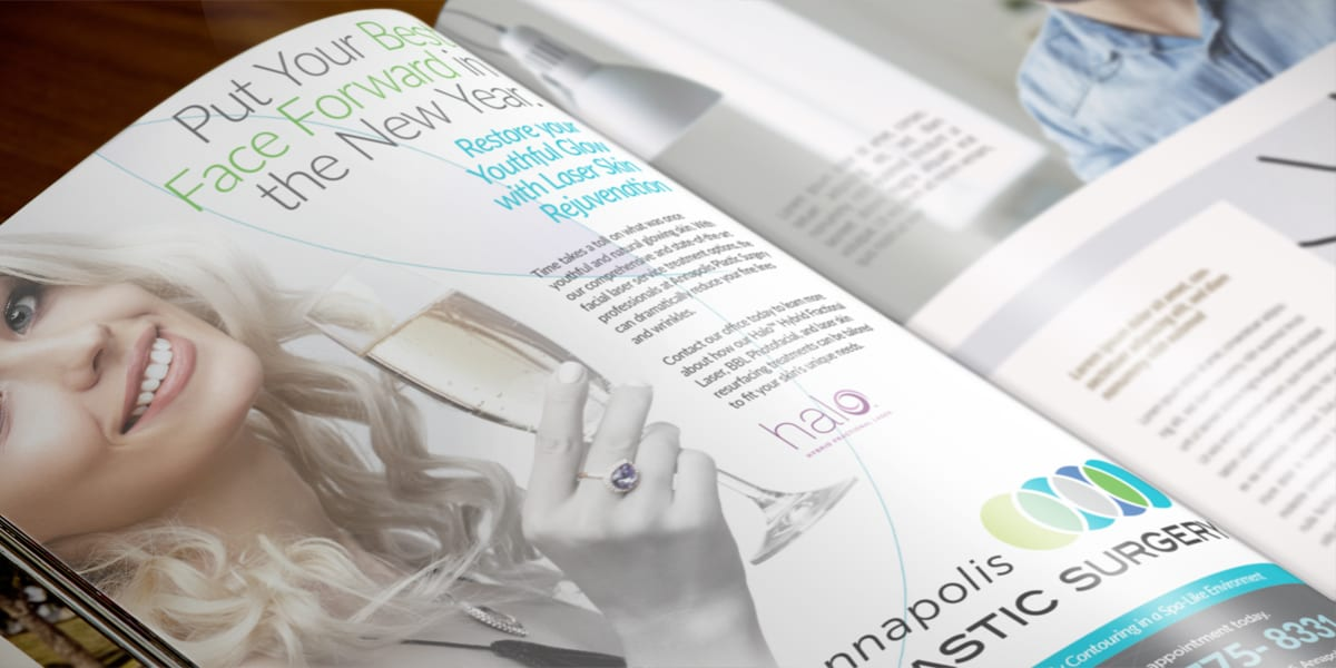 Plastic Surgeon Print Ad Campaign