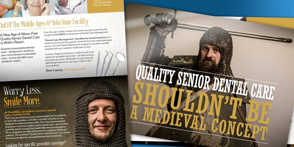 prevmed direct mailer campaign middle ages