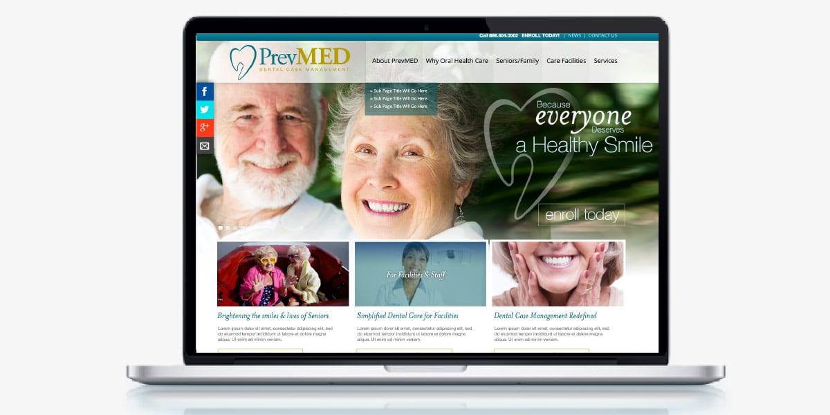 prevmed homepage laptop